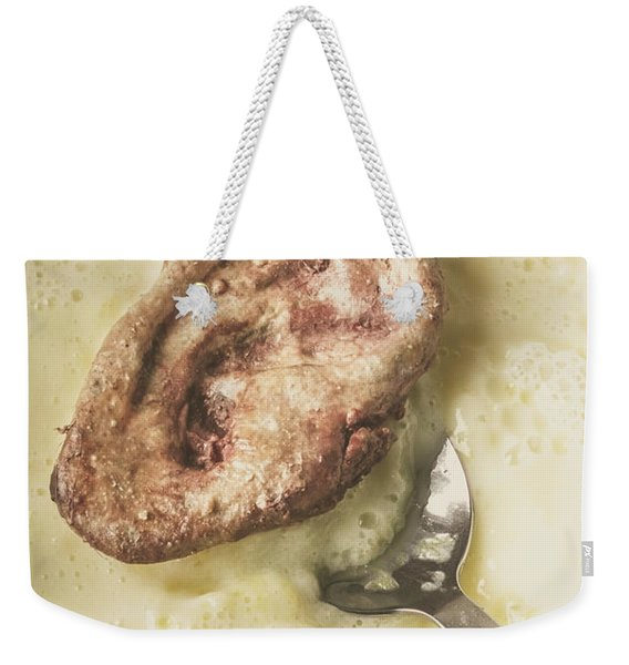 Cannibal Custard Weekender Tote Bag