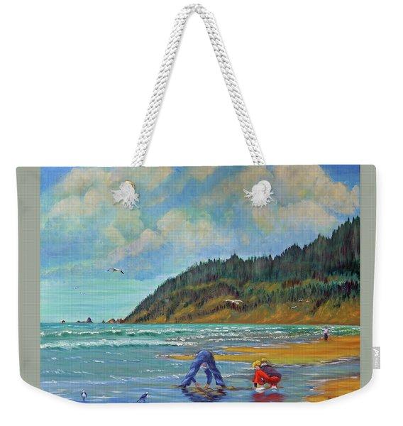 Cannon Beach Kids Weekender Tote Bag