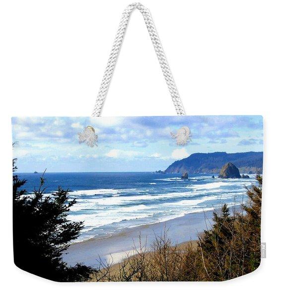 Cannon Beach Vista Weekender Tote Bag