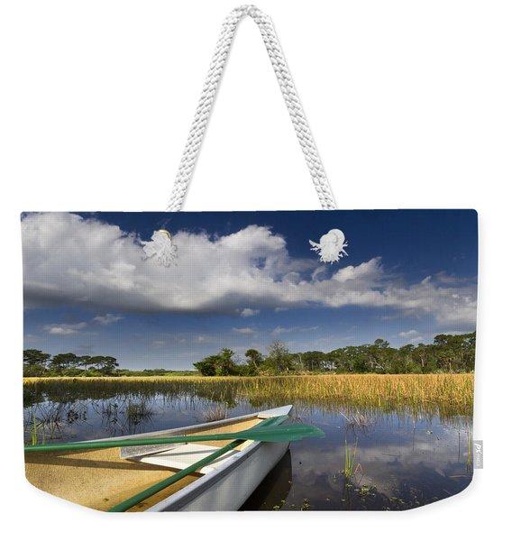 Canoeing In The Everglades Weekender Tote Bag
