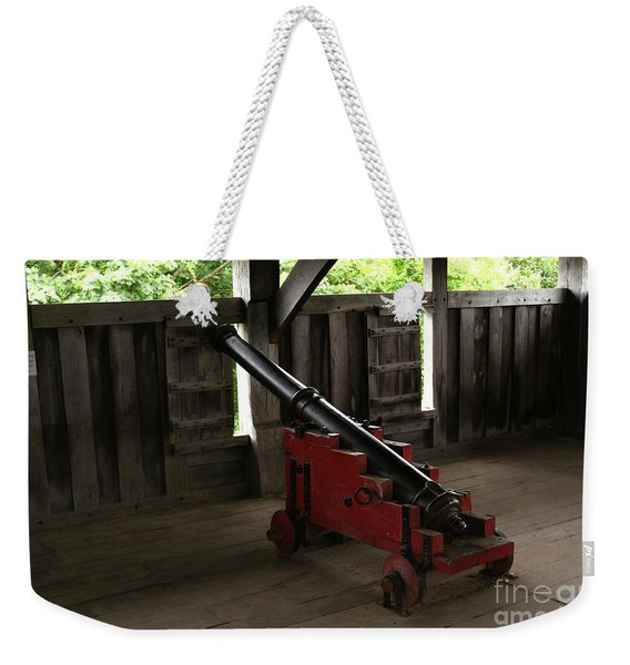 Canon Set To Protect And Defend The Separatists Village In Plimo Weekender Tote Bag