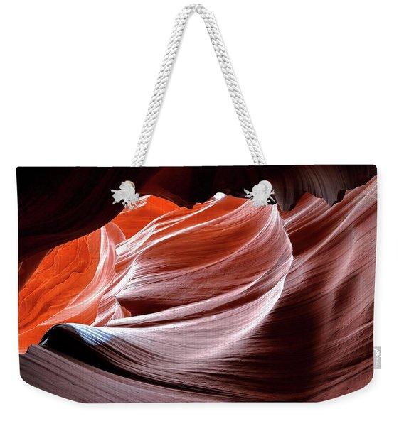 Canyon Abstract 2 Weekender Tote Bag