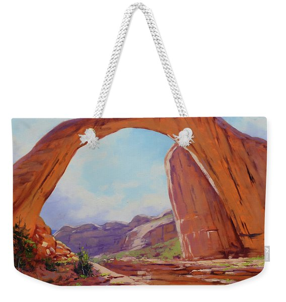 Canyon Arch Weekender Tote Bag