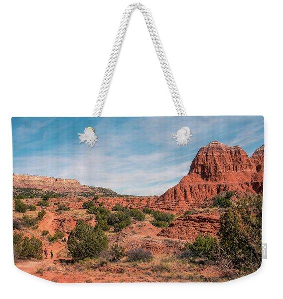 Canyon Hike Weekender Tote Bag