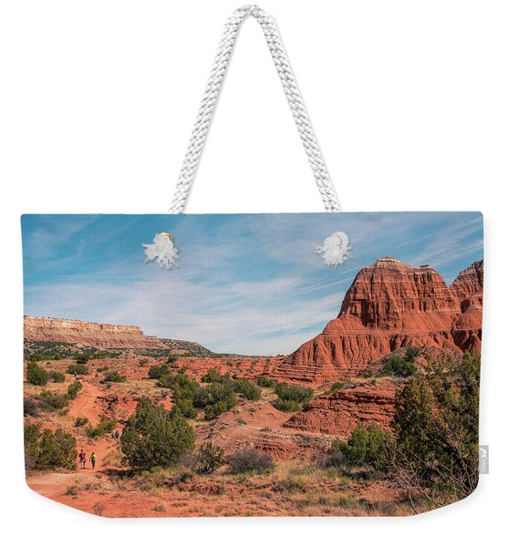 Canyon Hike Weekender Tote Bag