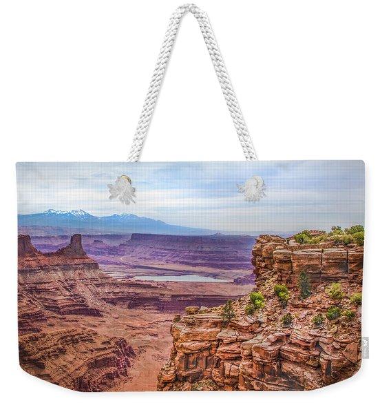 Canyon Landscape Weekender Tote Bag