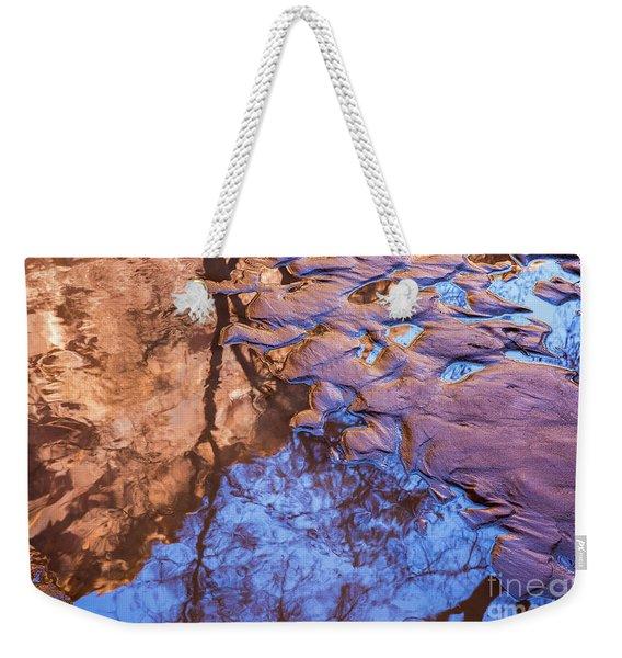 Canyon Reflections Weekender Tote Bag