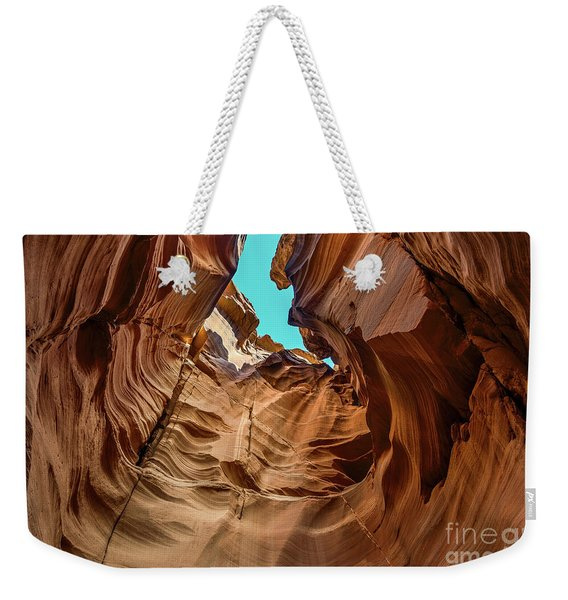 Canyon Sky - The Amazing Antelope Slot Canyons In Arizona, Usa. Weekender Tote Bag