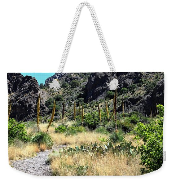 Canyon Springs Trail Weekender Tote Bag