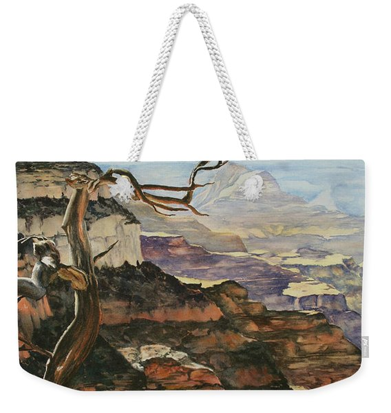 Canyon View Weekender Tote Bag