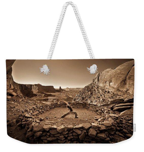 Canyonlands Kiva Weekender Tote Bag