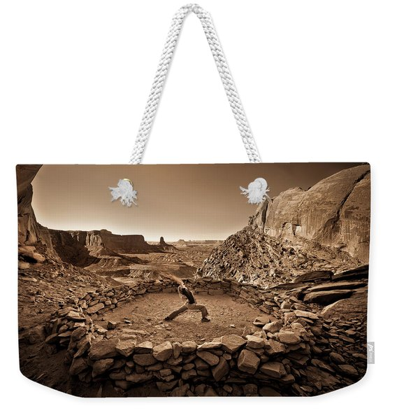 Canyonlands Kiva Weekender Tote Bag