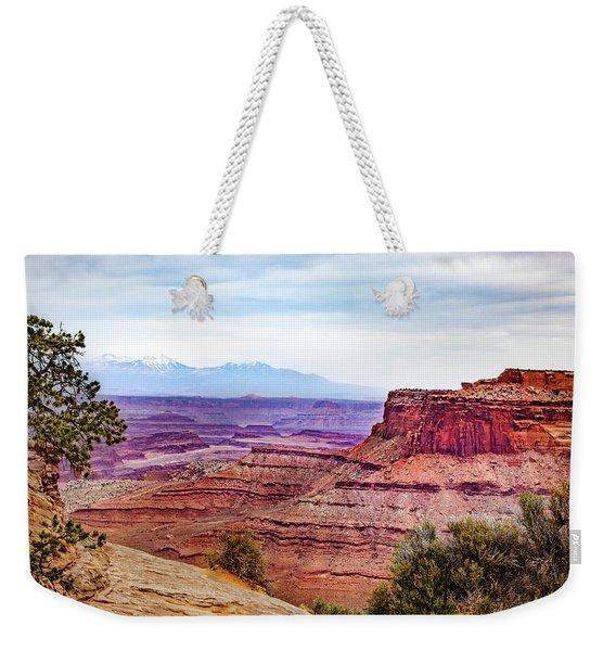 Canyonlands National Park Weekender Tote Bag