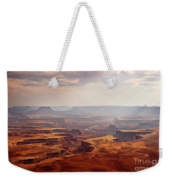 Canyonlands Panorama Weekender Tote Bag