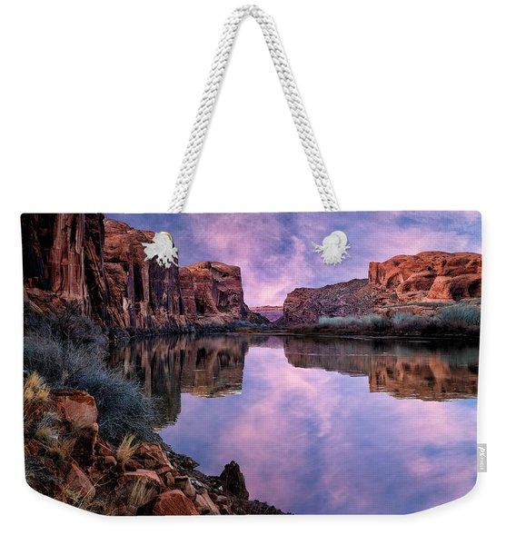Canyonlands Sunset Weekender Tote Bag