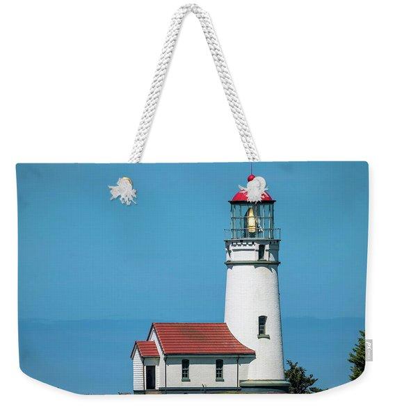 Cape Blanco Lighthouse At Cape Blanco, Oregon Weekender Tote Bag