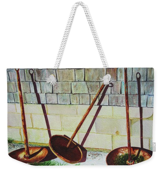 Cape Cod Buoy Anchors Weekender Tote Bag