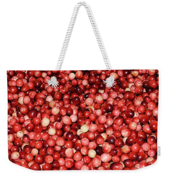 Cape Cod Cranberries Weekender Tote Bag