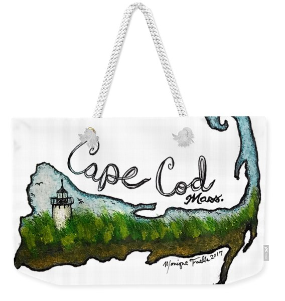 Cape Cod, Mass. Weekender Tote Bag