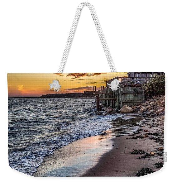 Cape Cod September Weekender Tote Bag