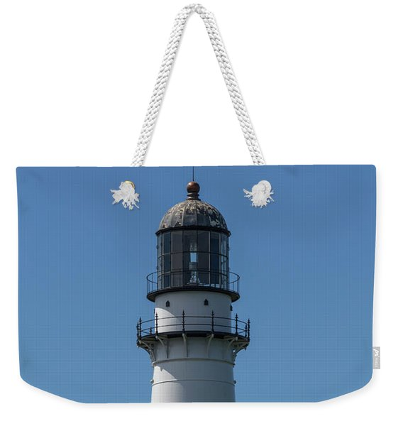 Cape Elizabeth Lighthouse Tower Weekender Tote Bag