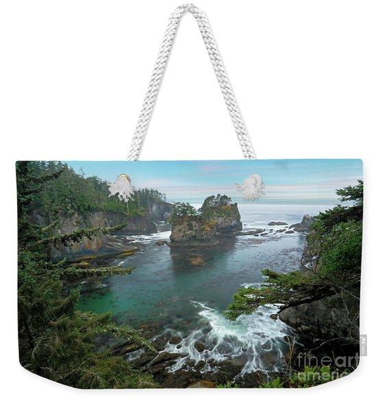Cape Flattery North Western Point Weekender Tote Bag