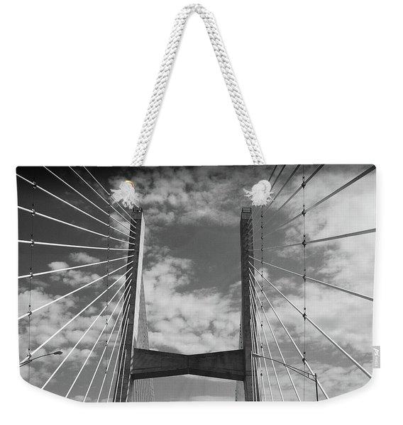 Cape Girardeau Bridge Weekender Tote Bag