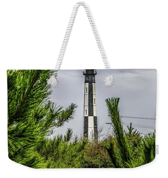 Cape Henry Light From The Dune Weekender Tote Bag
