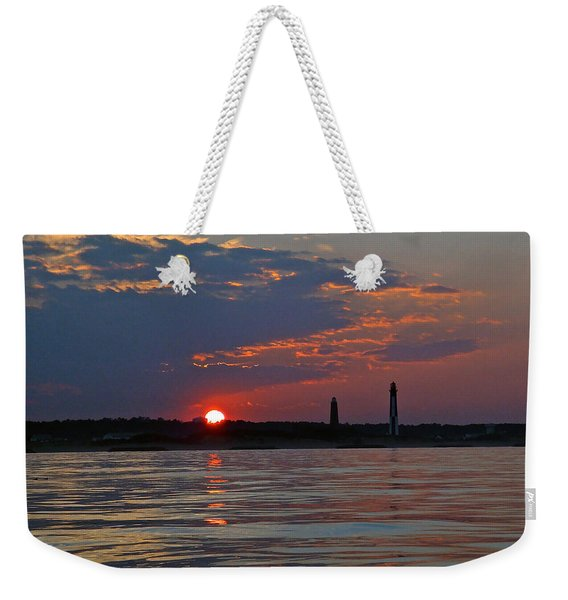 Cape Henry Sunset Weekender Tote Bag