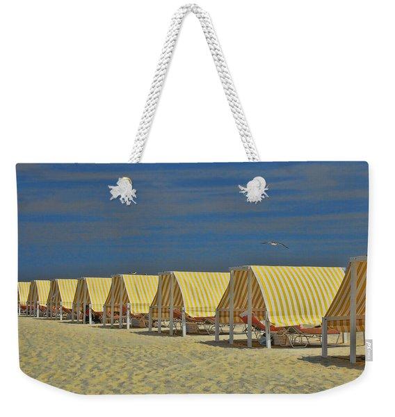 Cape May Cabanas 6 Weekender Tote Bag