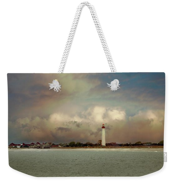 Cape May Lighthouse II Weekender Tote Bag