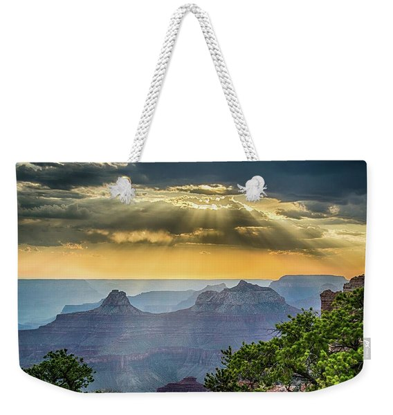 Cape Royal Crepuscular Rays Weekender Tote Bag