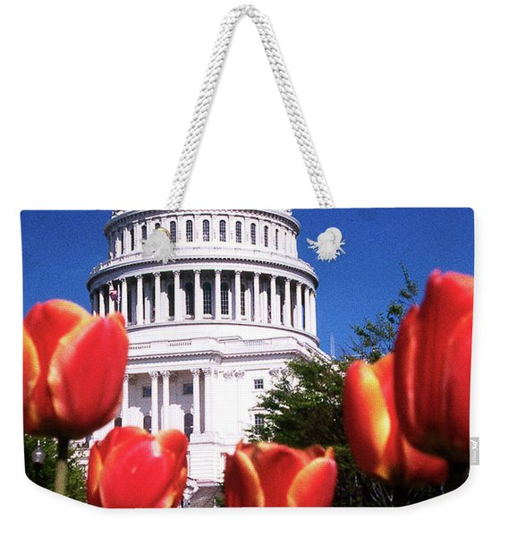 Capital Colors Weekender Tote Bag