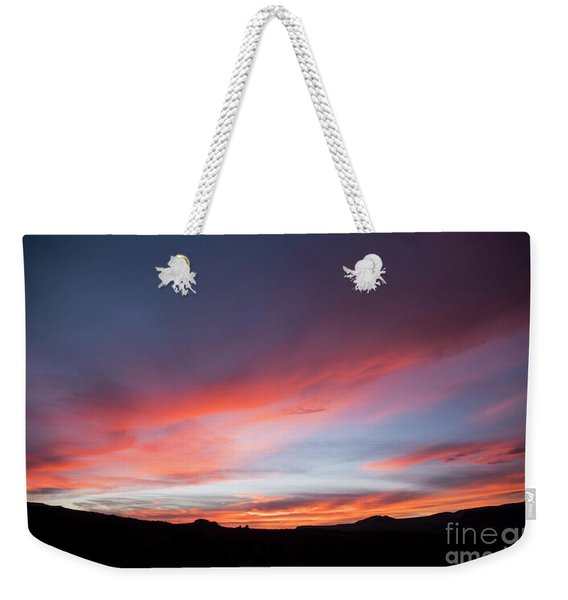Capital Reef Sunset Weekender Tote Bag