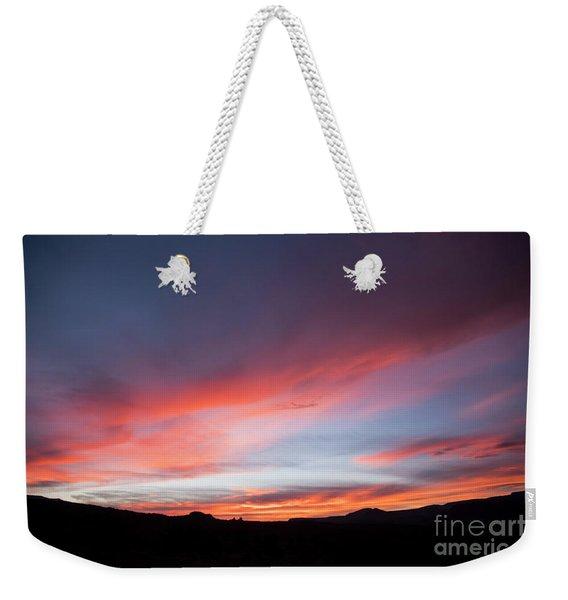 Capital Reef Sunset Weekender Tote Bag