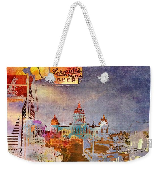 Capitol City Weekender Tote Bag
