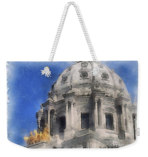 Capitol Dome St Paul Minnesota Weekender Tote Bag