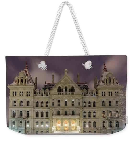 Capitol Snow Weekender Tote Bag