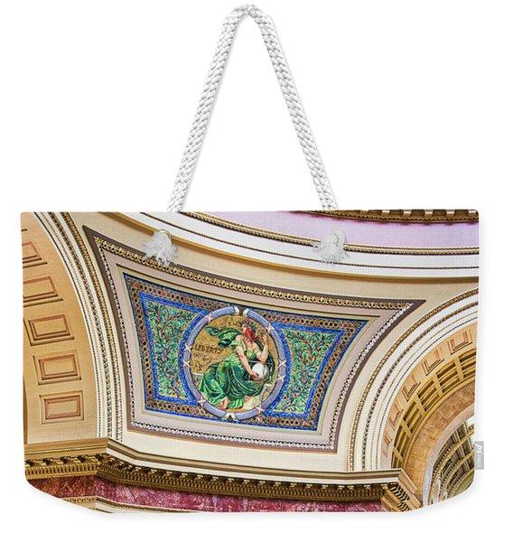 Capitol Rotunda -madison - Wisconsin Weekender Tote Bag