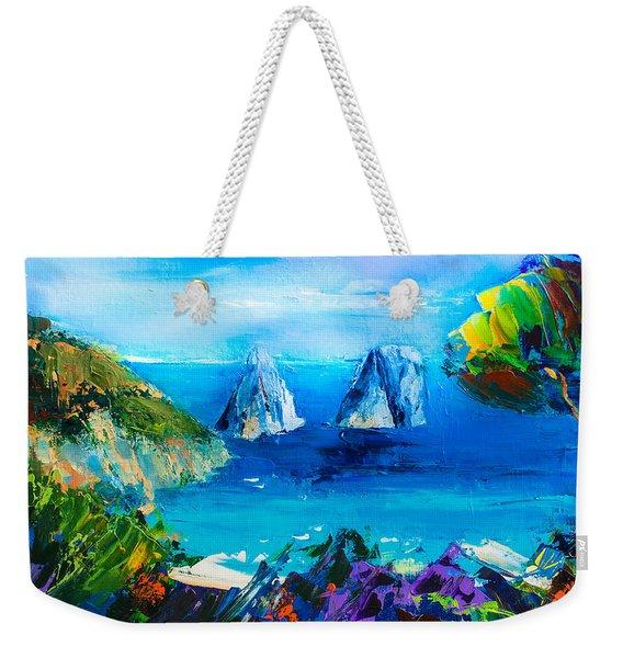 Capri Colors Weekender Tote Bag