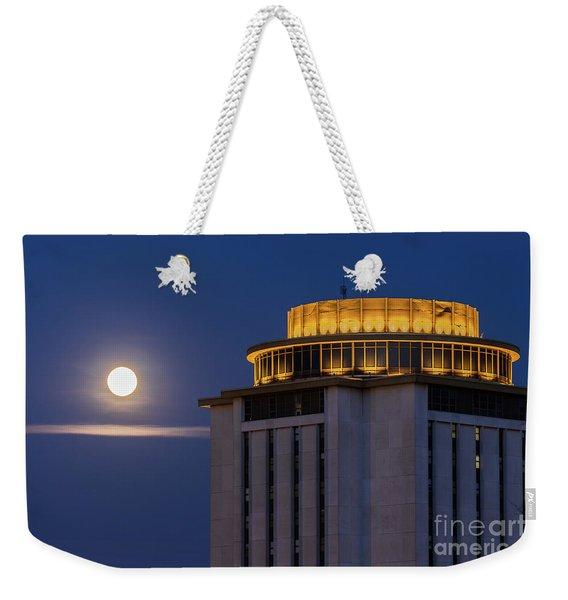 Capstone House And Full Moon Weekender Tote Bag