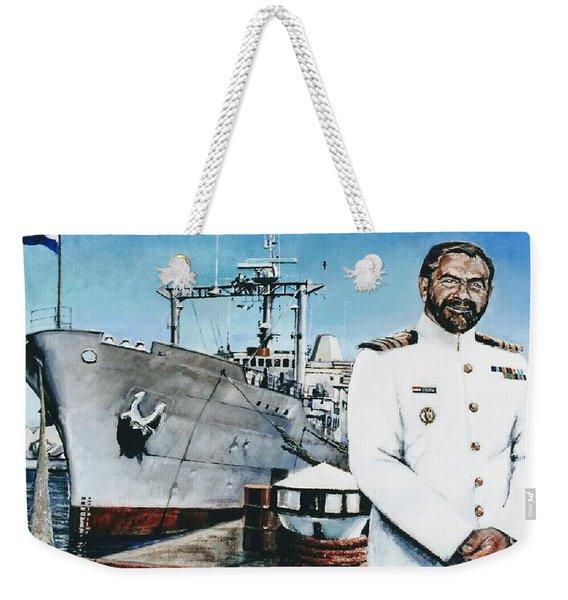 Capt Eric Green Weekender Tote Bag