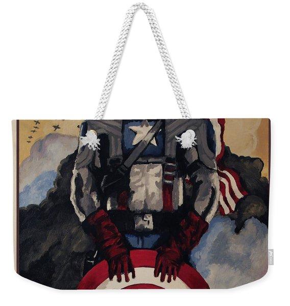 Captain America Recruiting Poster Weekender Tote Bag