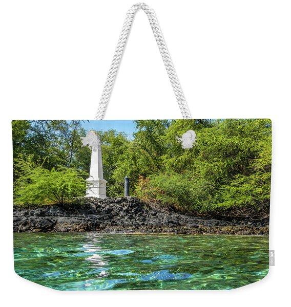 Captain Cook Monument Weekender Tote Bag