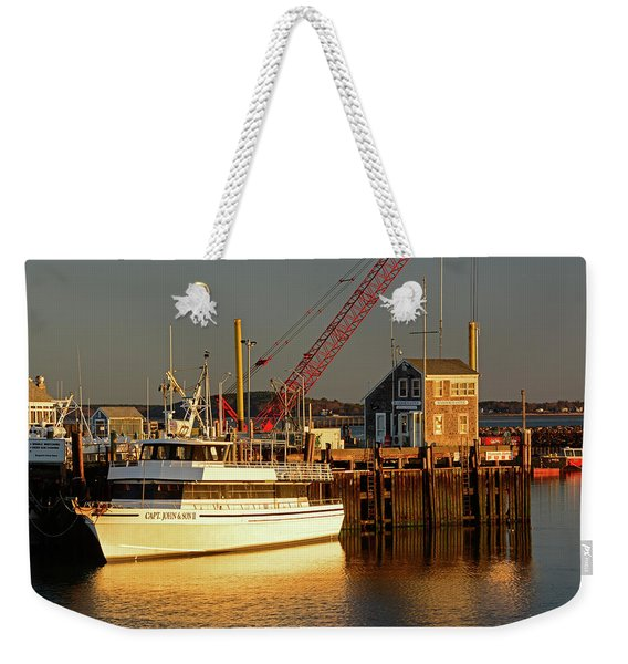 Captain John Weekender Tote Bag