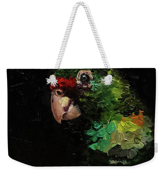 Captain The Parrot Weekender Tote Bag