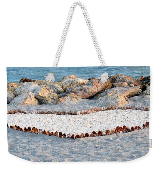 Captiva Love Weekender Tote Bag