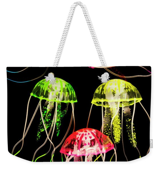 Captivating Connectivity Weekender Tote Bag