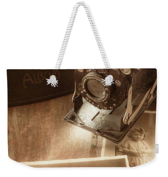 Captured Memories Weekender Tote Bag