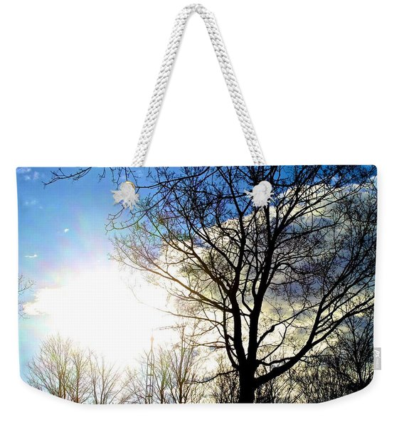 Capturing The Morning Sun Weekender Tote Bag
